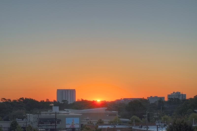 Raleigh Sunrise 20101023