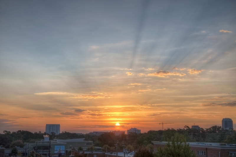 Raleigh Sunrise 20101102