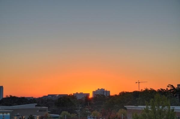 Raleigh Sunrise 20101108
