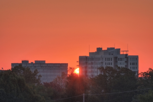 Raleigh Sunrise 20101109
