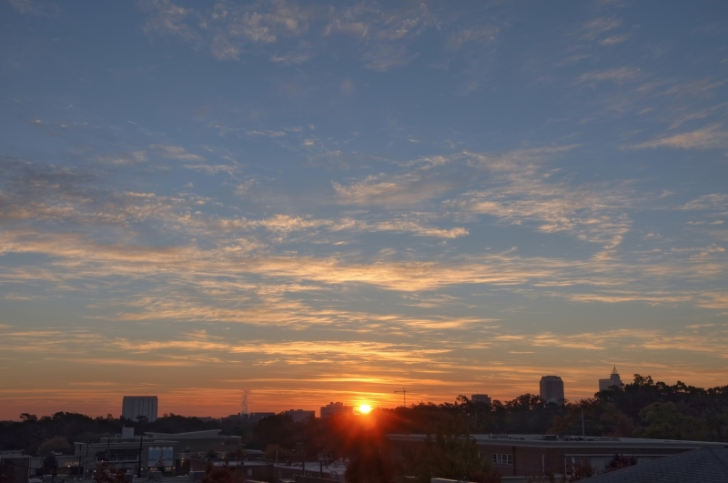 Raleigh Sunrise 20101114