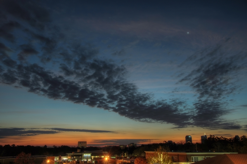 Raleigh Sunrise 20101125