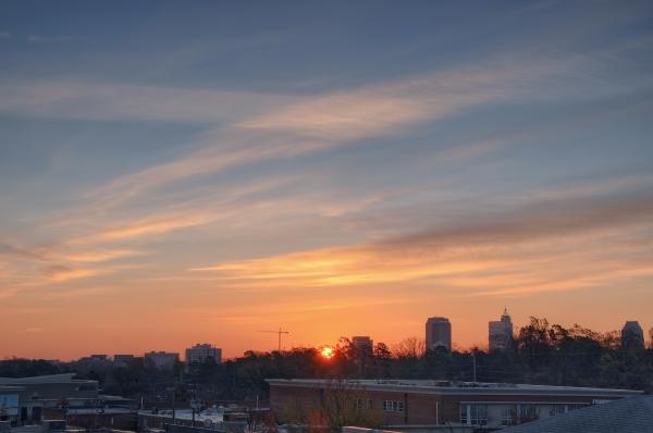 Raleigh Sunrise 20101202