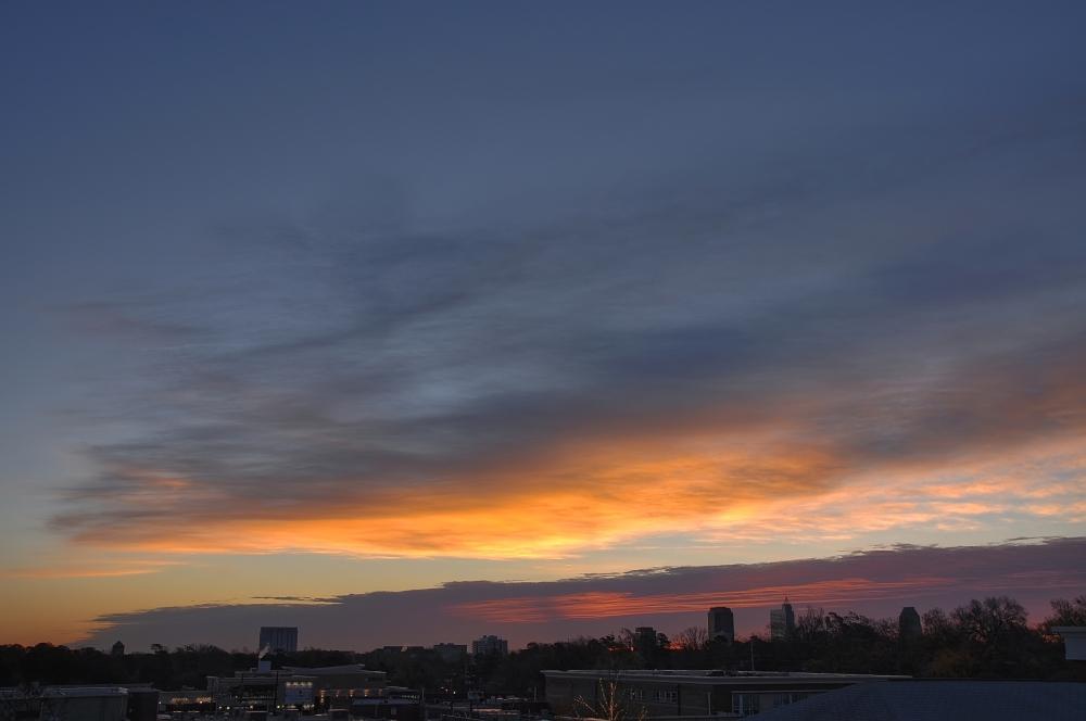 Raleigh Sunrise 20091211