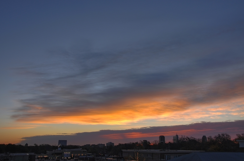 Raleigh Sunrise 20091211