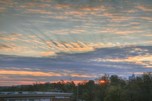 Raleigh Sunrise 20101213