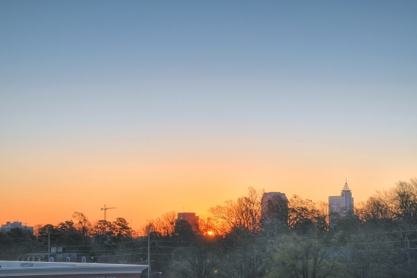 Raleigh Sunrise 20101214