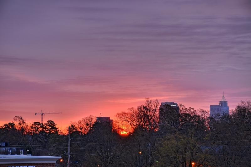Raleigh Sunrise 20101221