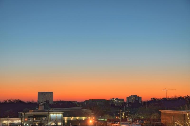 Raleigh Sunrise 20101223
