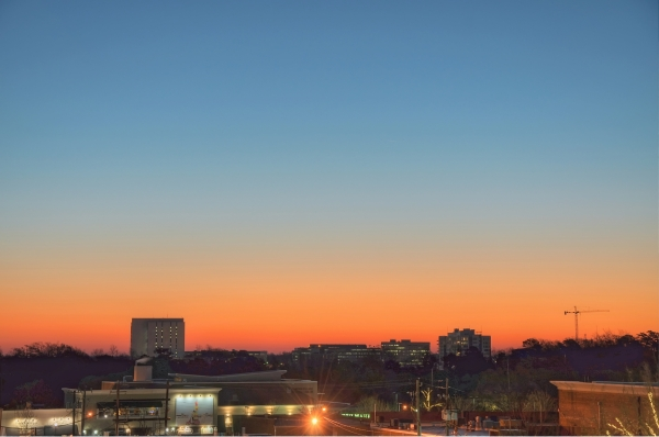 Raleigh Sunrise 20101223