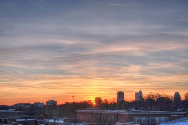 Raleigh Sunrise 20101229