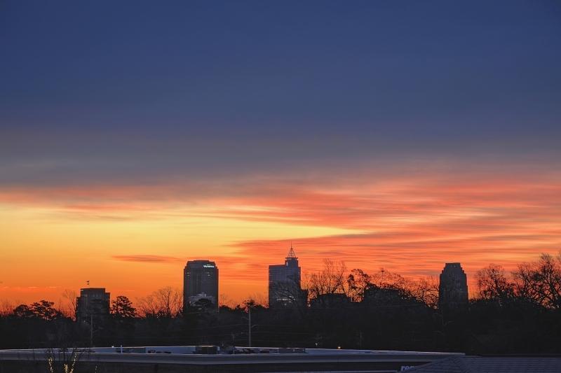 Raleigh Sunrise 20110107