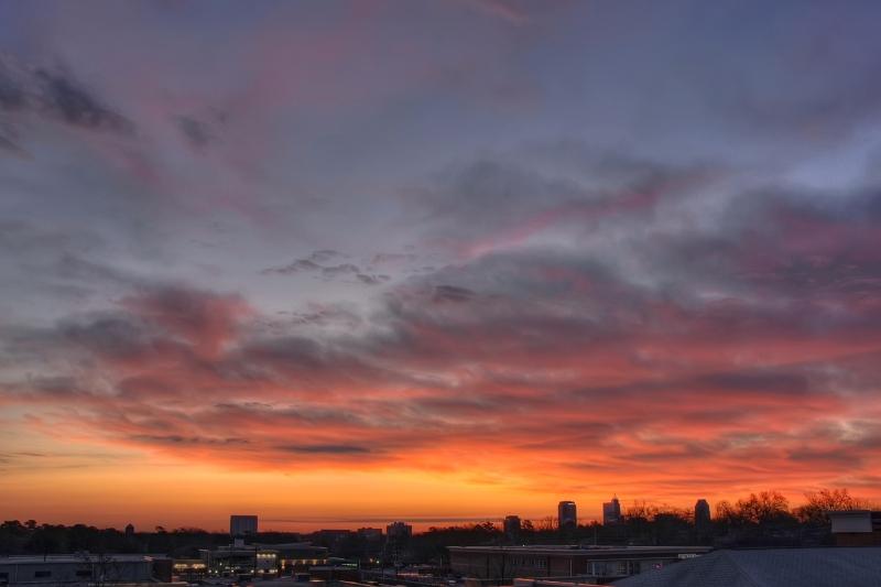 Raleigh Sunrise 20100120