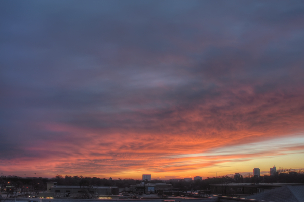 Raleigh Sunrise 20110130