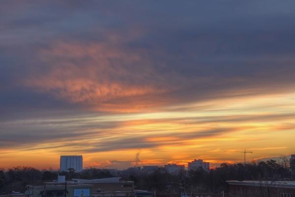 Raleigh Sunrise 20110130