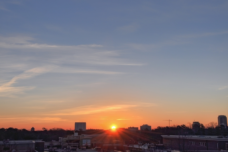 Raleigh Sunrise 20110214