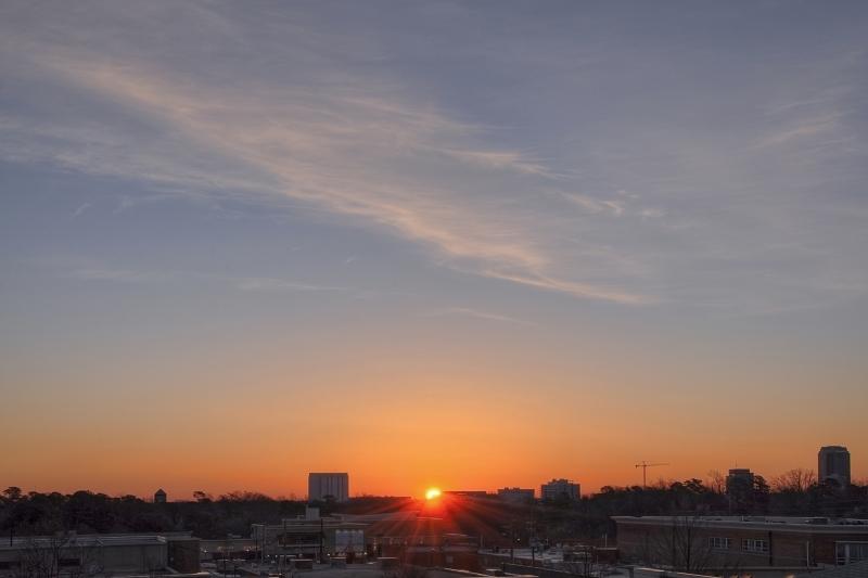 Raleigh Sunrise 20110215