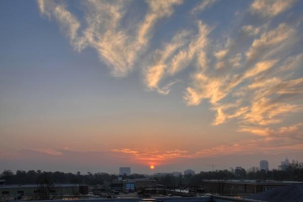 Raleigh Sunrise 20110218