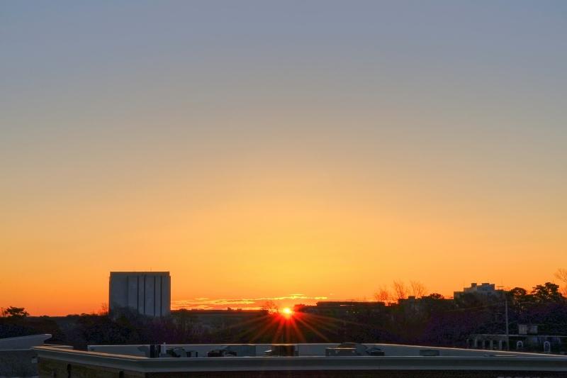 Raleigh Sunrise 20110219