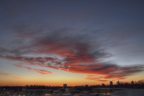 Raleigh Sunrise 20110220