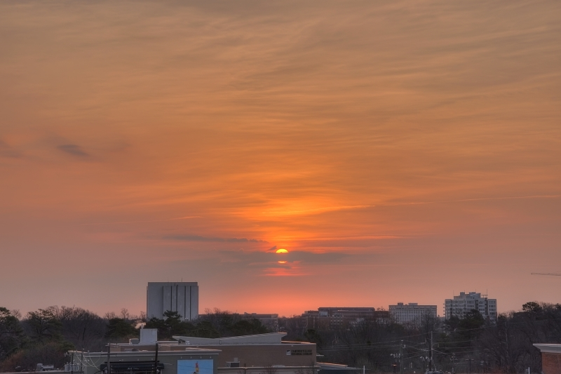 Raleigh Sunrise 20110221