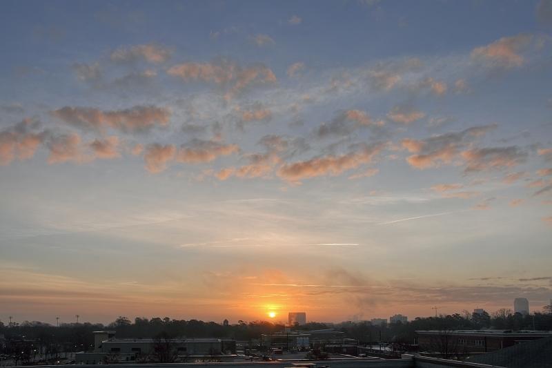 Raleigh Sunrise 20110305