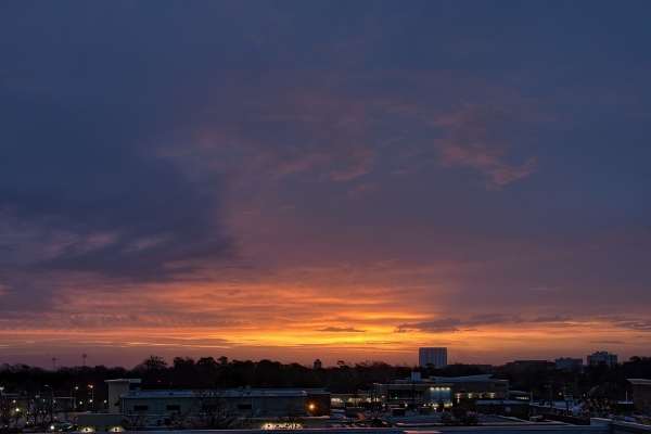 Raleigh Sunrise 20110306