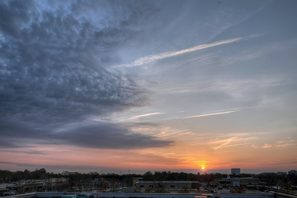 Raleigh Sunrise 20110314