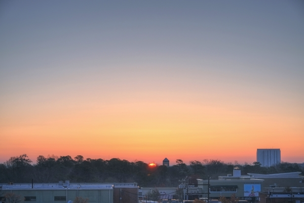 Raleigh Sunrise 20110317