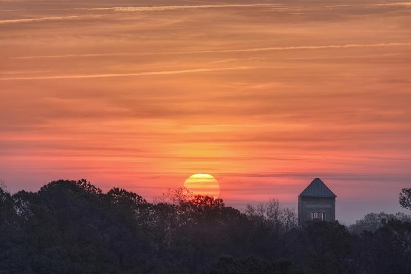 Raleigh Sunrise 20110318