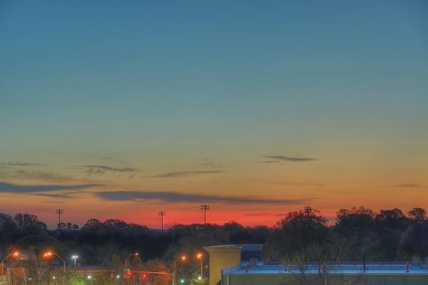 Raleigh Sunrise 20110404