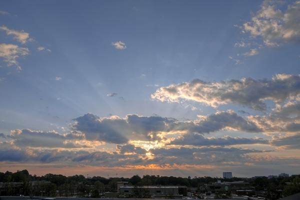Raleigh Sunrise 20100409
