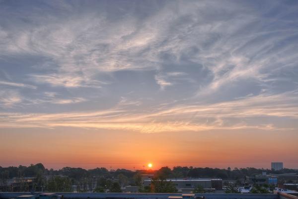 Raleigh Sunrise 20110415