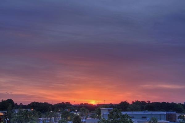 Raleigh Sunrise 20100420