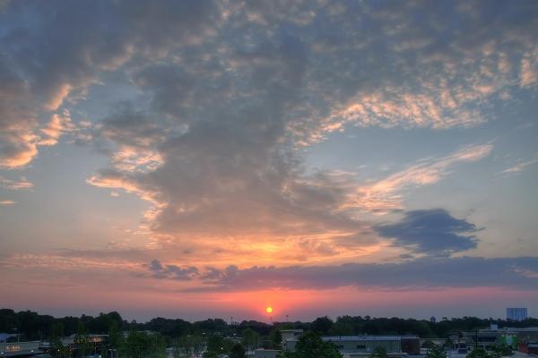 Raleigh Sunrise 20100423