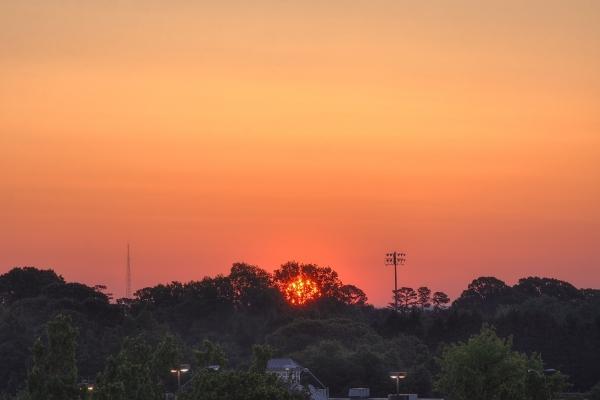 Raleigh Sunrise 20110505