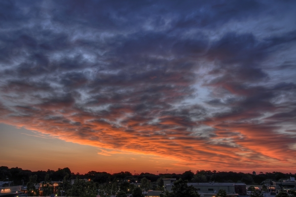 Raleigh Sunrise 20100509