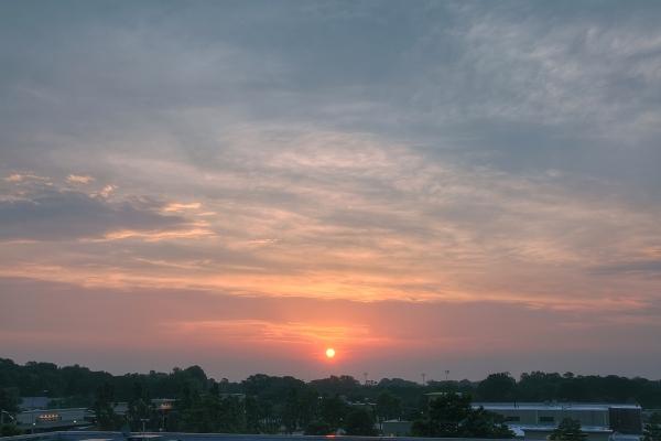 Raleigh Sunrise 20110514