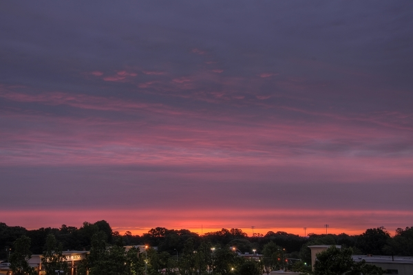 Raleigh Sunrise 20100511