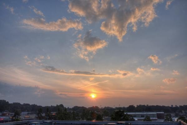 Raleigh Sunrise 20110517