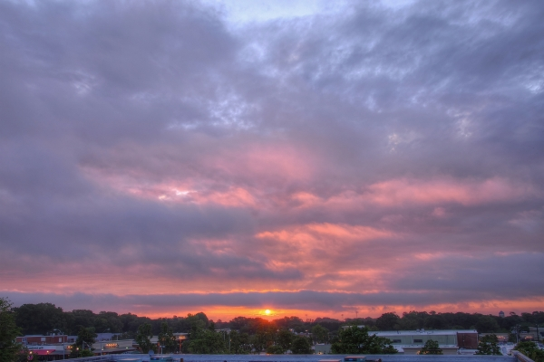 Raleigh Sunrise 20110518
