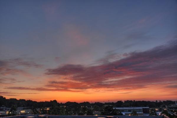Raleigh Sunrise 20110519