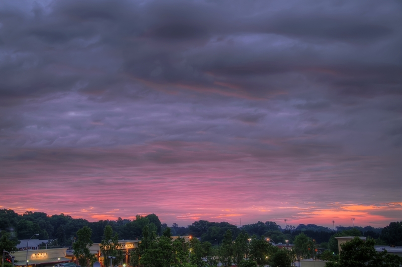 Raleigh Sunrise 20100520