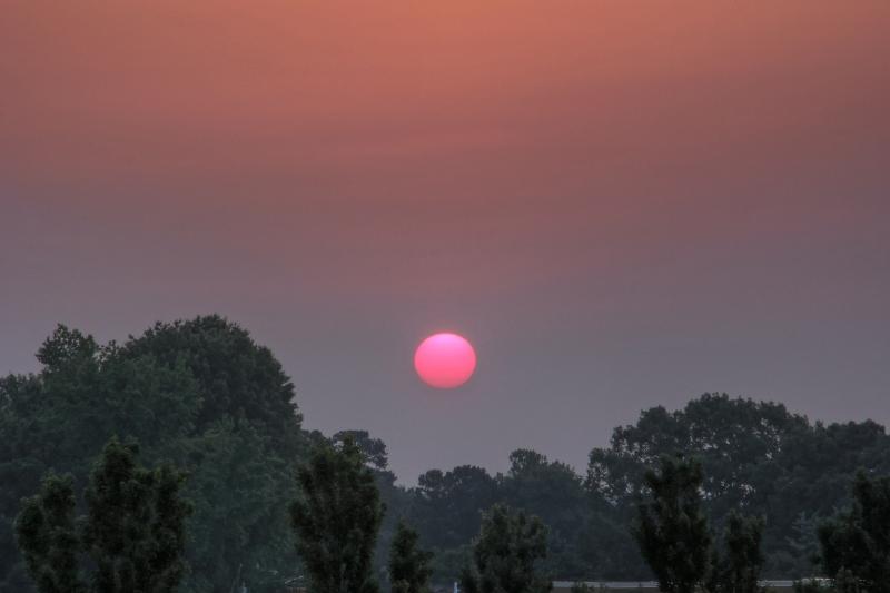 Raleigh Sunrise 20110601