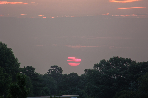 Raleigh Sunrise 20110612