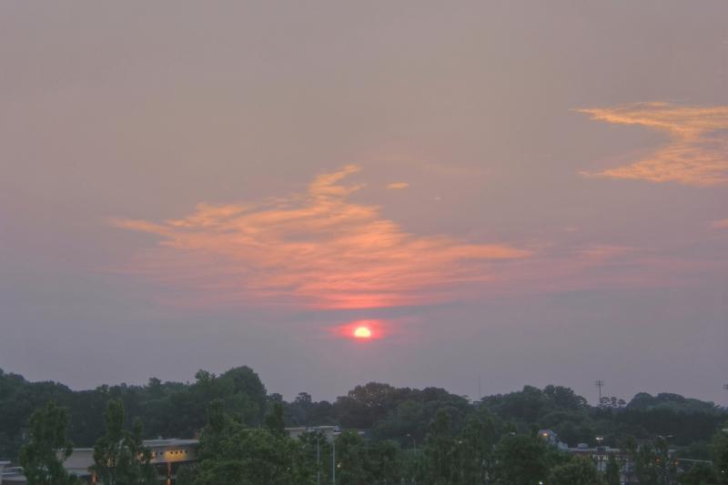 Raleigh Sunrise 20110613