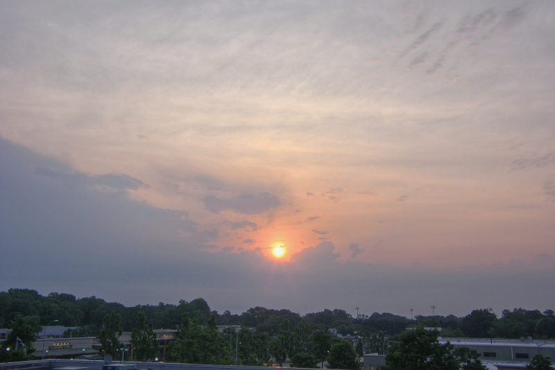 Raleigh Sunrise 20110621