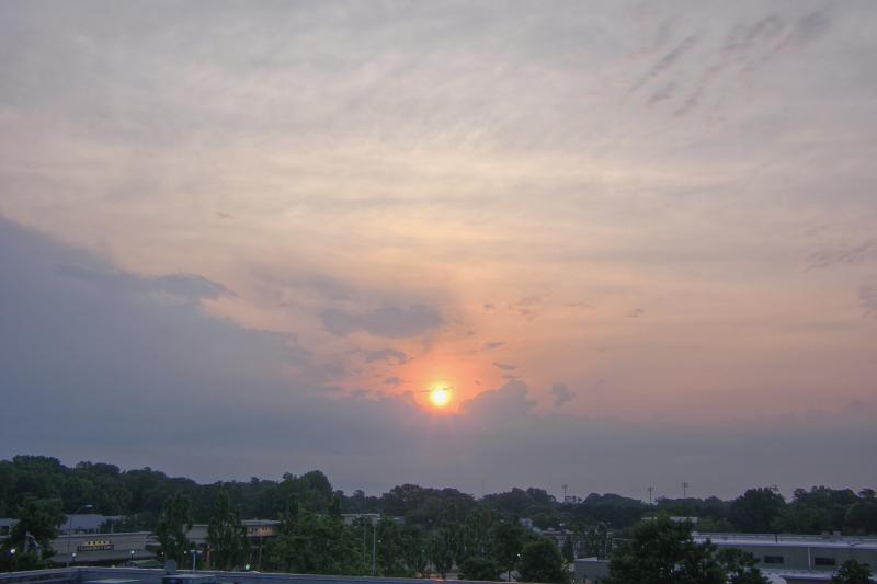 Raleigh Sunrise 20110621