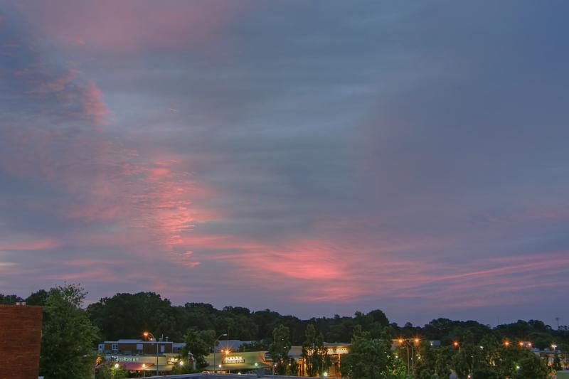 Raleigh Sunrise 20110624