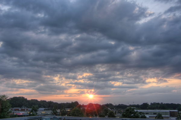 Raleigh Sunrise 20110626